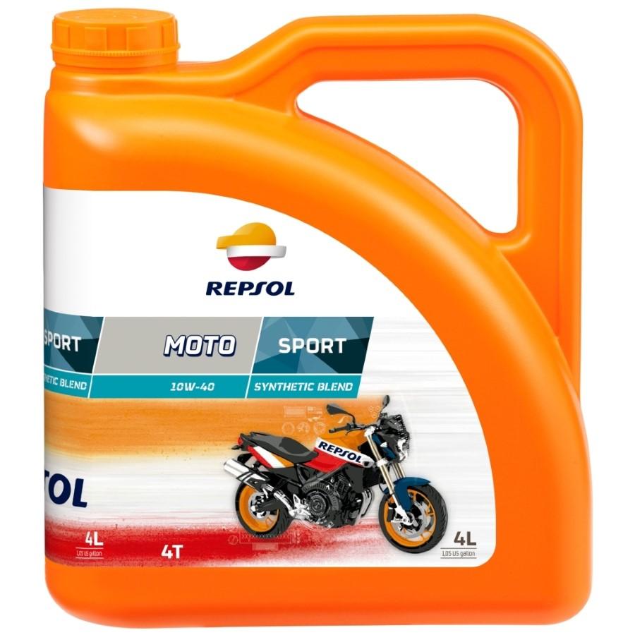 Repsol  4T 10W-40 MOTO SPORT 4T 10W40 4L motorolaj motorkerékpárokhoz