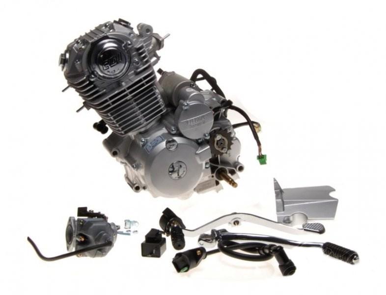motor, komplett Romet Zetka 150 cm3 4T