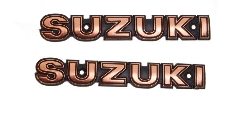 embléma Suzuki logo 1db GN 125 fém