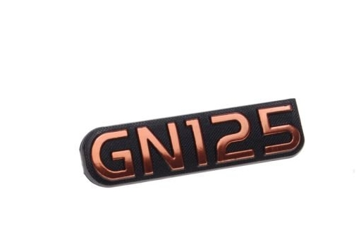 embléma GN125 logo Suzuki fém