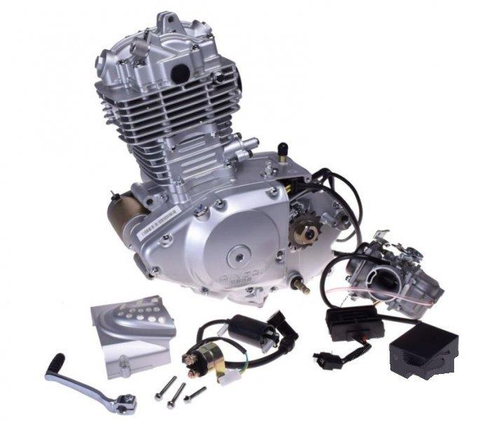 Motor komplett, SUZUKI GN125 CAP.200cc