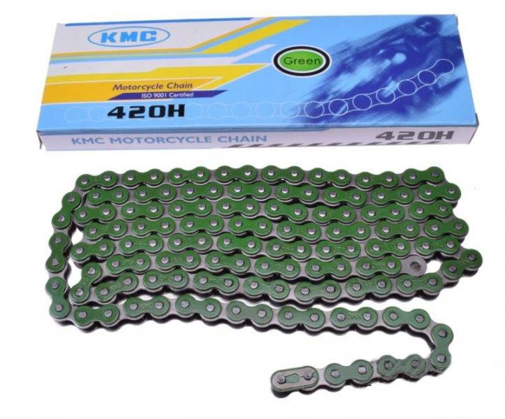 meghajtólánc KMC 420-138 zöld