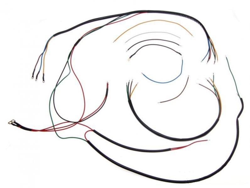 Kábel köteg, WFM M06. FEKETE B