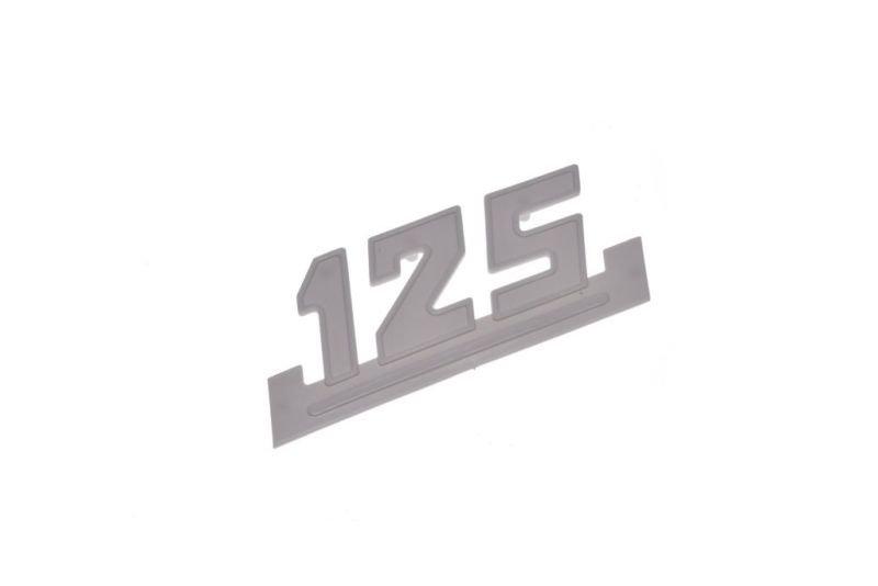 Embléma, oldalsó idom WSK125 fehér
