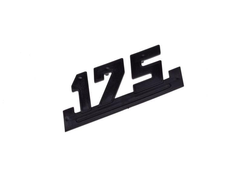 Embléma, oldalsó idom WSK175 FEKETE