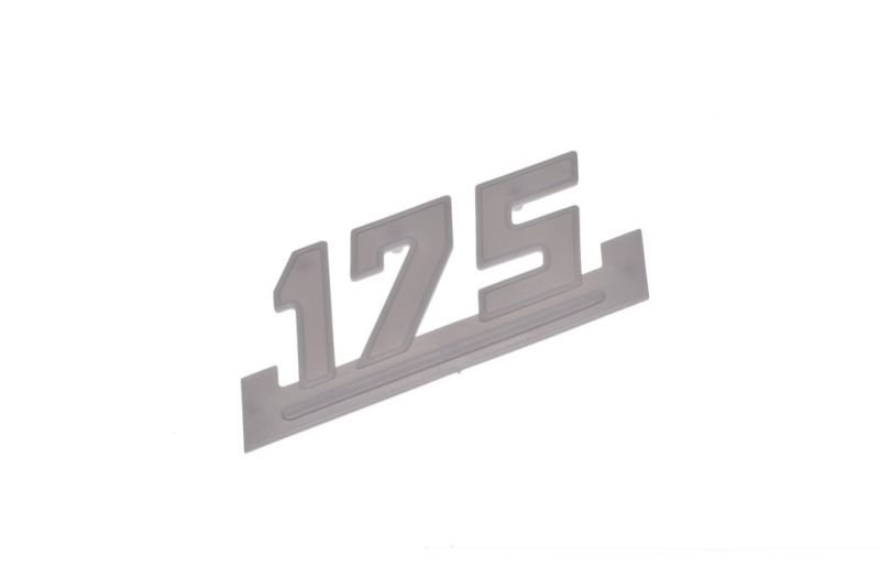 Embléma, oldalsó idom WSK175 FEHÉR