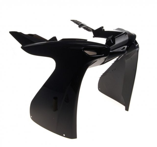 Idom első burkolat orr fekete Yamaha Aerox 2013-2014