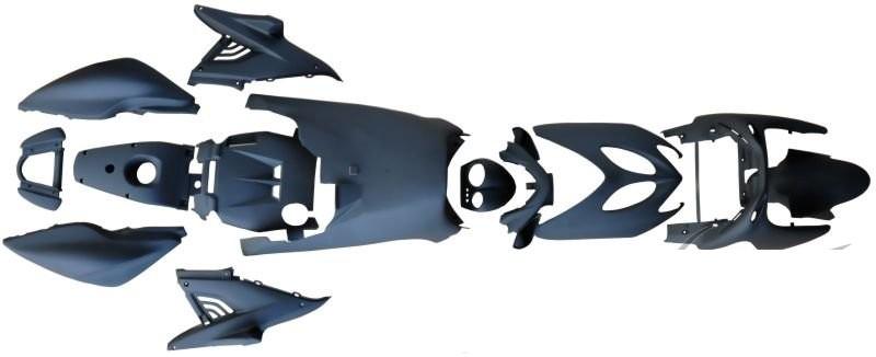 idom szett komplett Yamaha Aerox 50 100 matt fekete