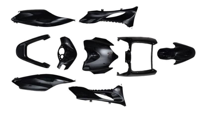Idom burkolat szett fekete Yamaha Jog RR