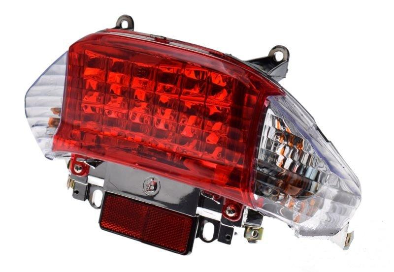 Hátsó lámpa, komplett + index KINROAD XT50QT-2
